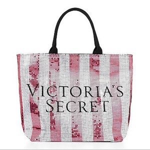 NWT Victorias Secret Limited Edition Sequined Tote